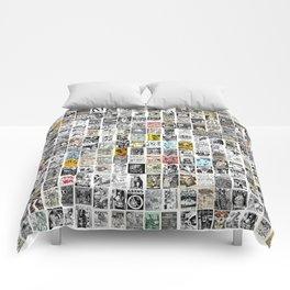 Punk Show Flyers Comforters