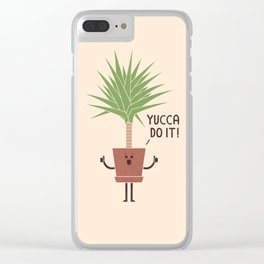 Yucca Do It Clear iPhone Case