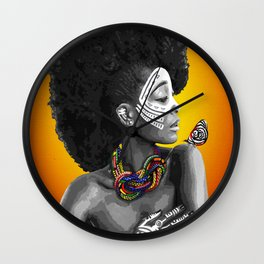 Faraja Wall Clock