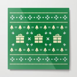 Christmas Mood #society6 #decor #buyart #artprint Metal Print