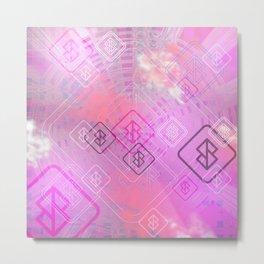 ONO token pink Metal Print