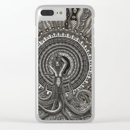 The Gate Keeper Clear iPhone Case