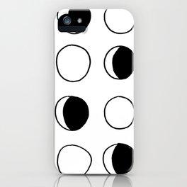 M O O N iPhone Case
