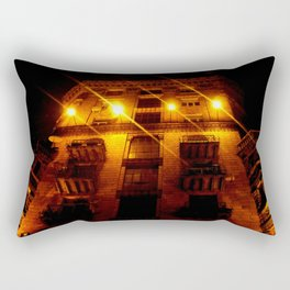 Night Crest 2 Rectangular Pillow