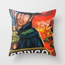 Gringo Throw Pillow