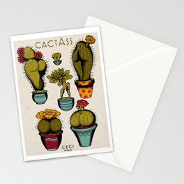 Cactass Stationery Cards