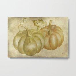 Autumn's Gifts Metal Print