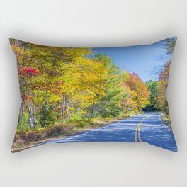 New Hampshire country road Rectangular Pillow