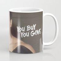 ali gulec Mugs featuring Ali #1 by YBYG