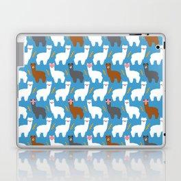 Pink Hair Alpacas I Laptop & iPad Skin