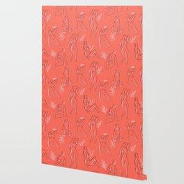 Coral Women Wallpaper