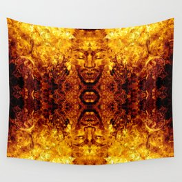 Brother Meditation X - gamma charge Wall Tapestry