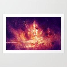 Catching Fire Art Print