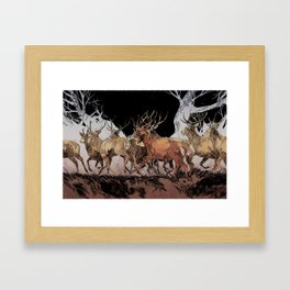 la harde Framed Art Print