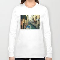 venice Long Sleeve T-shirts featuring Venice by Mr and Mrs Quirynen