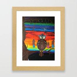 The Ancestor's Owl Framed Art Print