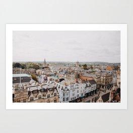 Oxford, England Art Print