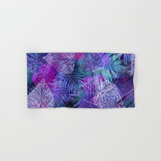 Forest Flora 3 Hand & Bath Towel