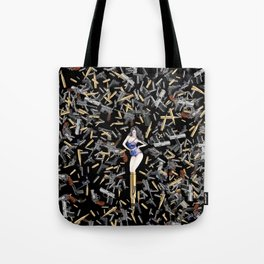 Bullet Girl Tote Bag