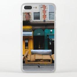 Bleecker St Clear iPhone Case