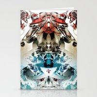 transformer Stationery Cards featuring Vacío by Andre Villanueva