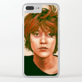 Take a look in the mirror Clear iPhone Case