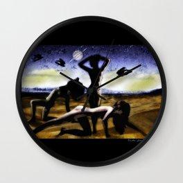 3 Women Wall Clock
