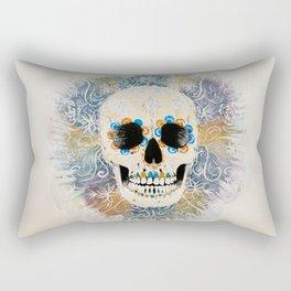 CalacaSugarSkull Rectangular Pillow