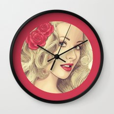 Christina Aguilera Wall Clock