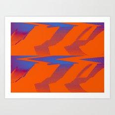 Digital Died/TigerPower Art Print