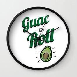 Green Guac and Roll Cinco de Mayo Wall Clock