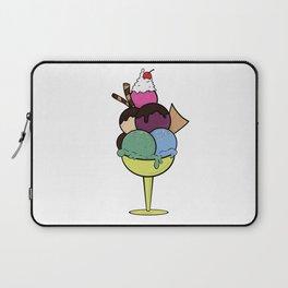 Ice Cream Sundae Laptop Sleeve