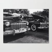 old school Canvas Prints featuring Old School by Xneon