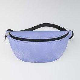 Blue watercolor brush Fanny Pack