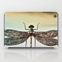 dragonfly iPad Cases featuring DRAGONFLY  by Pia Schneider [atelier COLOUR-VISION]
