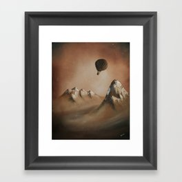 Around the world in 80 days by Jules Verne Framed Art Print