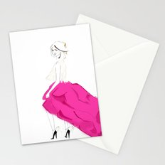 Pink Skirts Stationery Cards