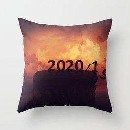 Farewell 2019 Throw Pillow