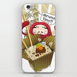 Daruma Time!!! iPhone Skin