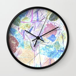 Autumn leaves design Wall Clock