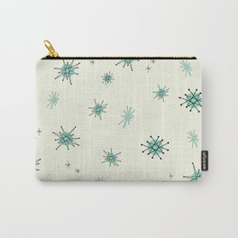 Mid Century Stars Retro Vintage Pattern Carry-All Pouch