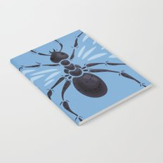 Weird Abstract Flying Ant Notebook