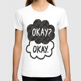 OKAY?OKAY THE FAULT IN OUR STARS TFIOS HAZEL AUGUSTUS CLOUDS T-shirt