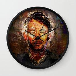 The Portrait Eraser (Thom Yorke) Wall Clock