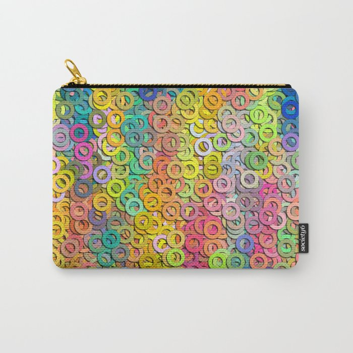 Little colorful rings Carry-All Pouch