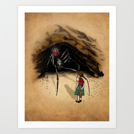 Consultation with the Spider Queen Art Print