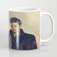 dean winchester Mugs featuring Dean Winchester - Supernatural by KanaHyde