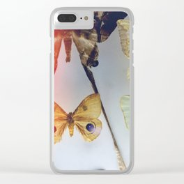 The Butterfly Collection Clear iPhone Case