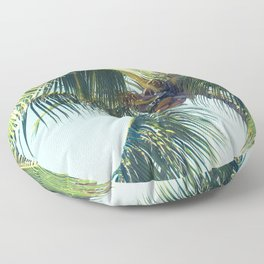 Palm Whispers Floor Pillow