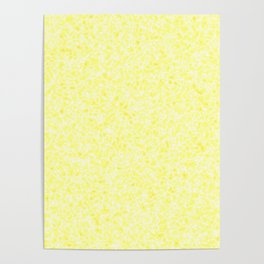 Yellow marble. Poster